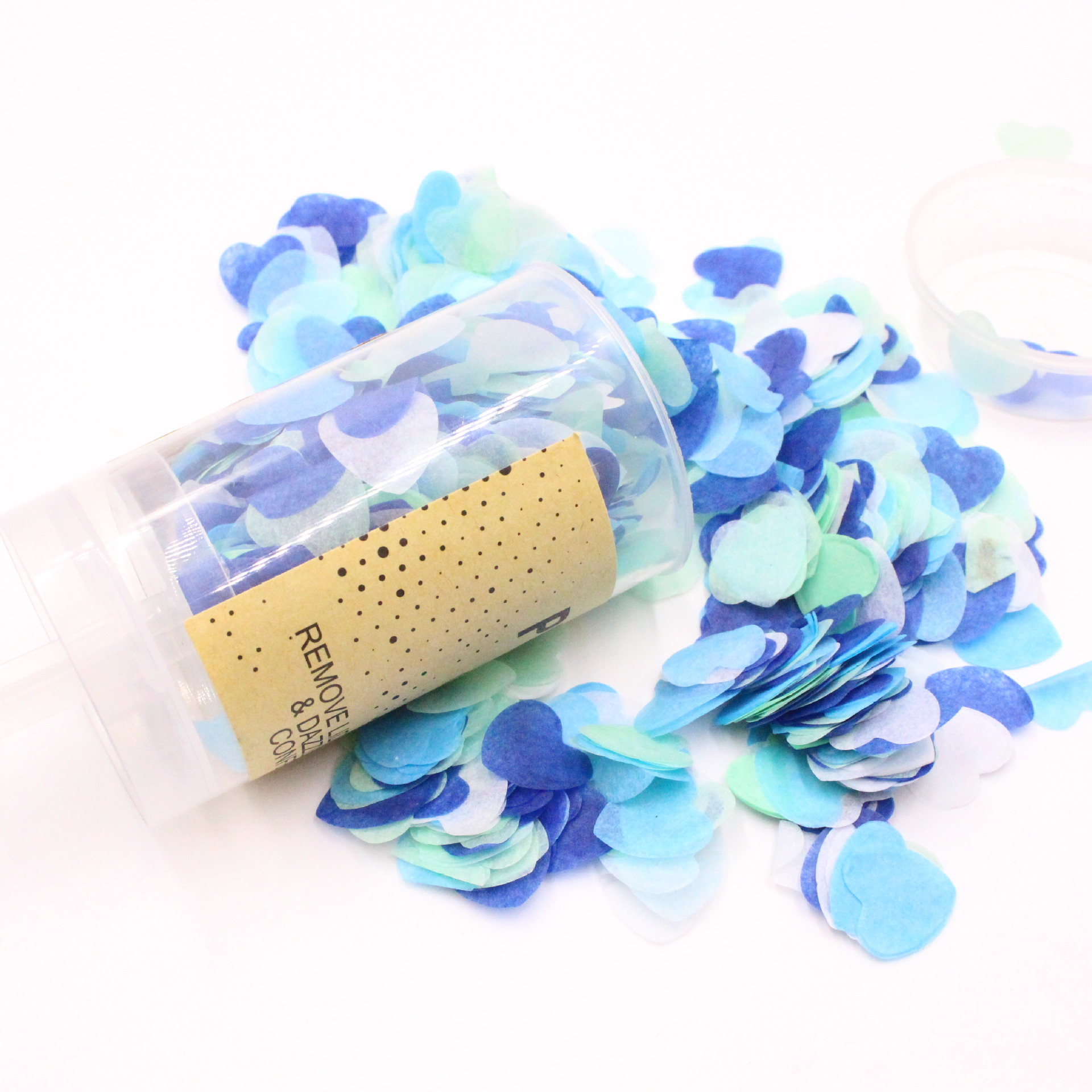 Baby shower Party Poppers Gender Reveal Poppers Biodegradable Tissue Paper Confetti, China Party Poppers, gender reveal poppers wholesale