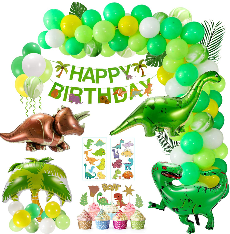 Dinosaur Birthday Party Decorations for Boys Girls Dinosaur Theme Party Supplies, China Dinosaur Birthday Party Decorations wholesale